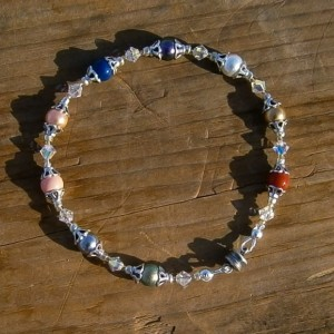 Fruit of the Spirit bracelet with magnetic clasp