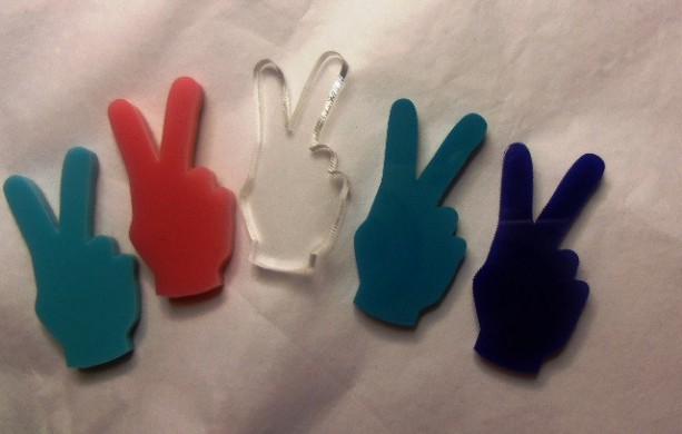 Peace signs,SYMBOLS,peace sign,laser cut charms,70s stuff