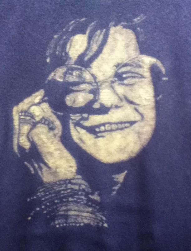 Janis Joplin Custom Batik Tshirt
