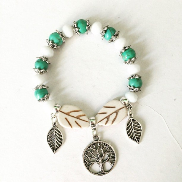 Stackable bracelet, Fall Bracelet Gift for Fall, Tree of Life Bracelet, Stackable Bracelet, Tree of Life , Gift For Her