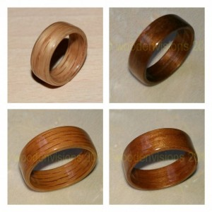 Design Your Own Custom Made Bentwood Ring