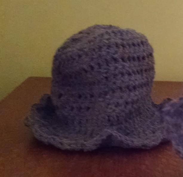 Crocheted Baby Hat Baby Gift