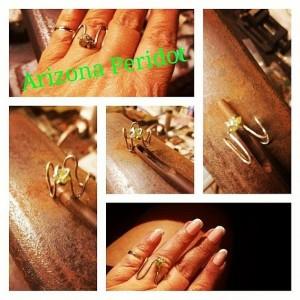 Arizona Peridot Ring