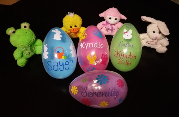 Sold out of cream bunnies personalized easter gift personalized sold out of cream bunnies personalized easter gift personalized easter egg babies first easter negle Images