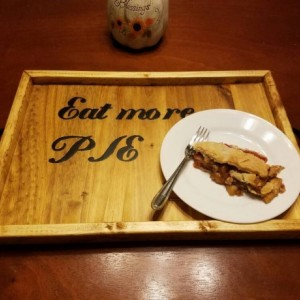Eat More Pie Serving Tray