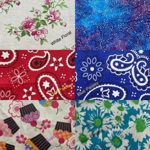 Handmade Scrunchies  (2 pack)