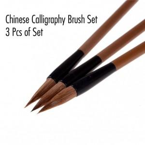 3 Pcs of Chinese Calligraphy Brush Set
