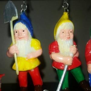 Vintage Gnome Earrings