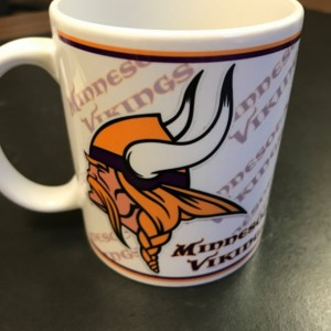 Custom Made Minnesota Vikings Coffee Mug