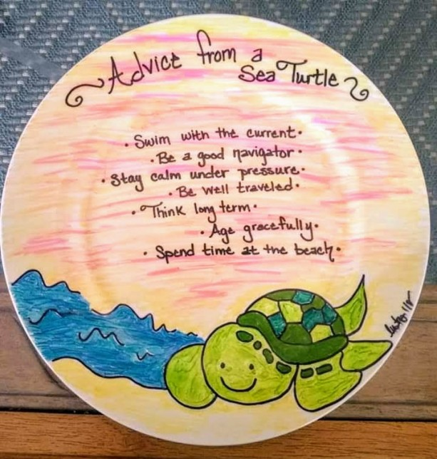 """Advice from a Sea Turtle"""