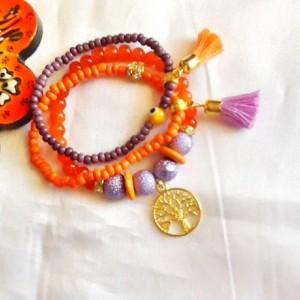SALE------ TREE of LIFE bracelet- Bohemian bracelet- tassel bracelet- Ethnic jewelry- gypsy jewelry