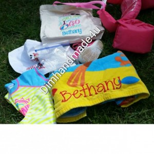 The pool is calling and i must go personalized bag!