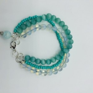 "8"" Triple Strand Friendship Bracelet"