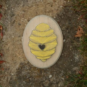 Bee Hive String Art