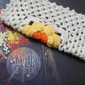 Sunlit Daisy Crochet Dishcloths, Set of 3