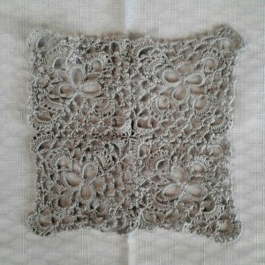 CloverFields Heirloom Sampler in Cloud Grey