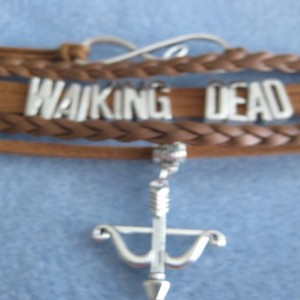 Walking Dead INFINITY Bracelet Many colors available Brown