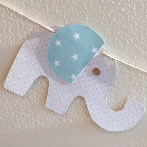 Elephant Baby Shower - Elephant 1st Birthday - Elephant Baby Shower Banner - Nursery Decoration - Baby Shower Decoration - Elephant Decor