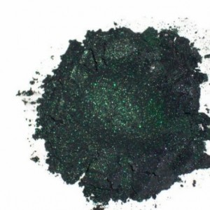 Mineral Makeup Eyeshadow- Green Family- Loose Powder