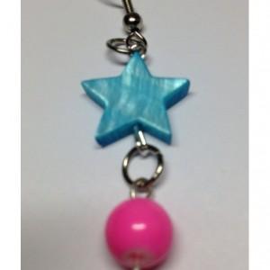 Star Candy Dangle Earrings