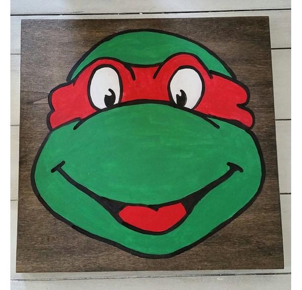 Ninja turtle wall art