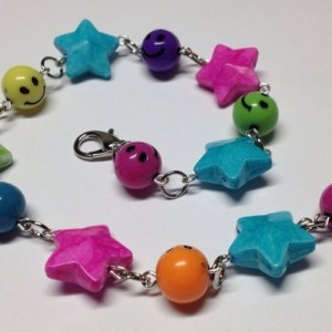Smiles and Stars Anklet