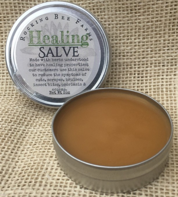 Natural Bees Wax Healing Salve...Doesn't Sting!