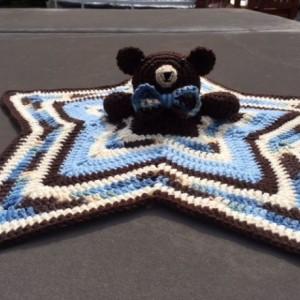 Crochet Bear Lovey