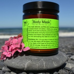 Body Mask 9 oz.-Organic