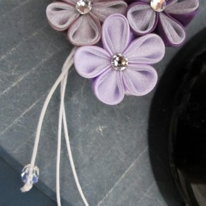 Perfectly Purple Shidare Kanzashi