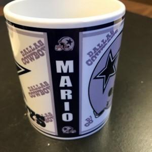 Custom Made Dallas Cowboys Coffee Mug