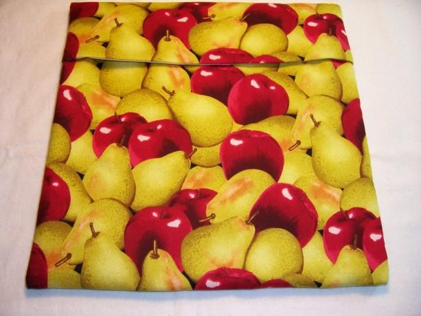 Apples & Pears Print Microwave Potato Bag,Bake Potato,Microwave Potato Bag,Kitchen,Gifts,Housewarming