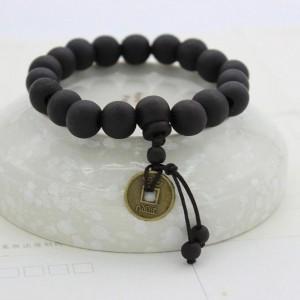 Black Wood Buddhist Beads Bracelet, Buddhist Bracelet, Mala Prayer Bracelet, Yoga Bracelet, Buddhist Tibet Rosary, Buddha Bracelet,