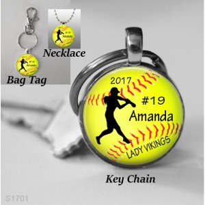 Personalized Softball Gift