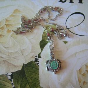 Turtle Love Pendant Necklace