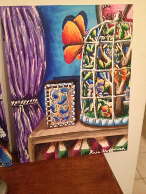 Butterfly Terrarium Painting