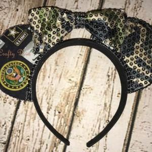 United-States-Army-Minnie-Mickey-Mouse-Handmade-Headband