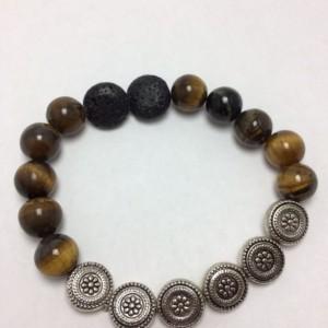 Essential oil Diffuser Tiger bracelet