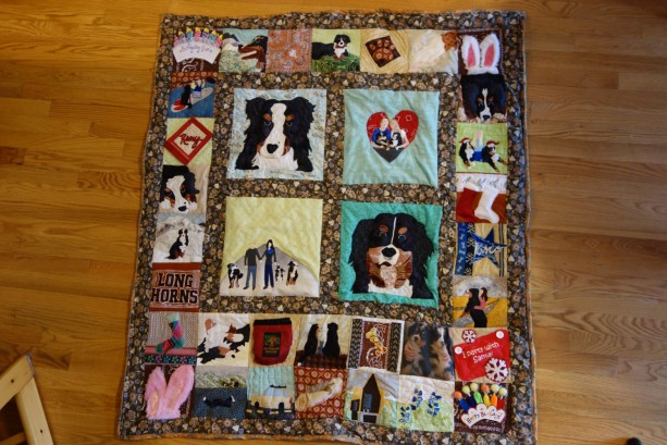 Beloved Buddy Memory Quilt- EXTRA-LARGE