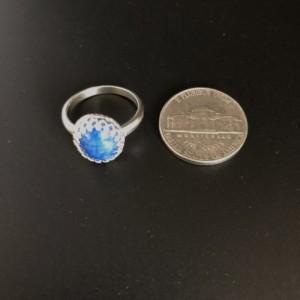 Denim Lapis Sterling Silver Ring