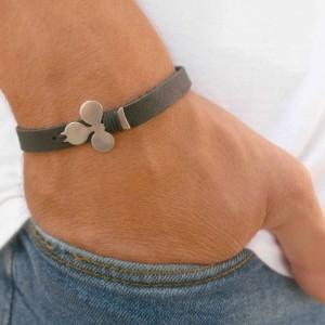 Men's Cuff Bracelet - Men's Leather Bracelet - Men's Bracelet - Men's Jewelry - Men's Gift - Husband Gift - Boyfriend Gift - Present For Men