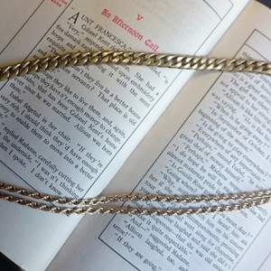 Multi Strand Gold Chain. Layered Necklace, Gold Necklace