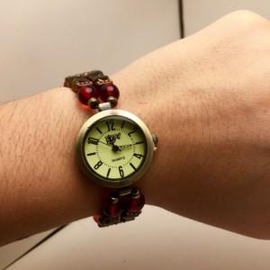 Beaded Steampunk Watch