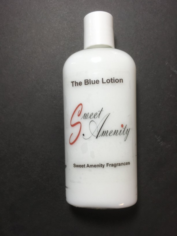 The Blue-Scented Hand and Body Lotion for dry skin