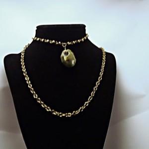 Bronze Chain Choker