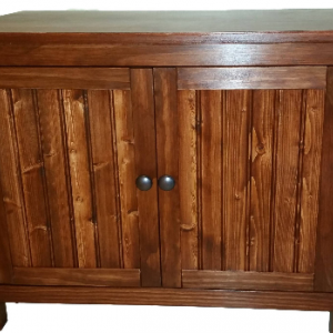 Odor Free, Custom, Hand-Made in USA Cat Litter Box Cabinet, Wood - Not MDF