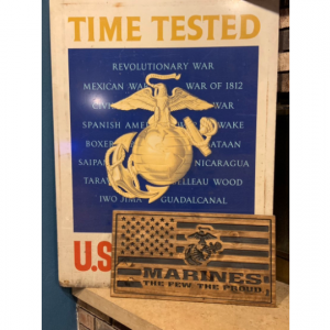 USMC Gift Marine Corps Gift Marine Corps Decor USMC Decor Gifts for Marines Gifts for Him