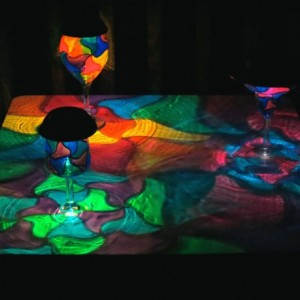 Hand Painted Solar Mosaic Luminaries