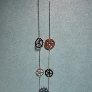 Steampunk Gear Necklace