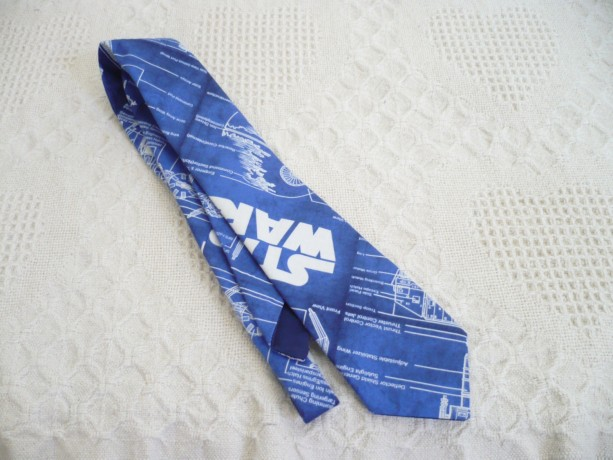 Star Wars Blueprint Necktie